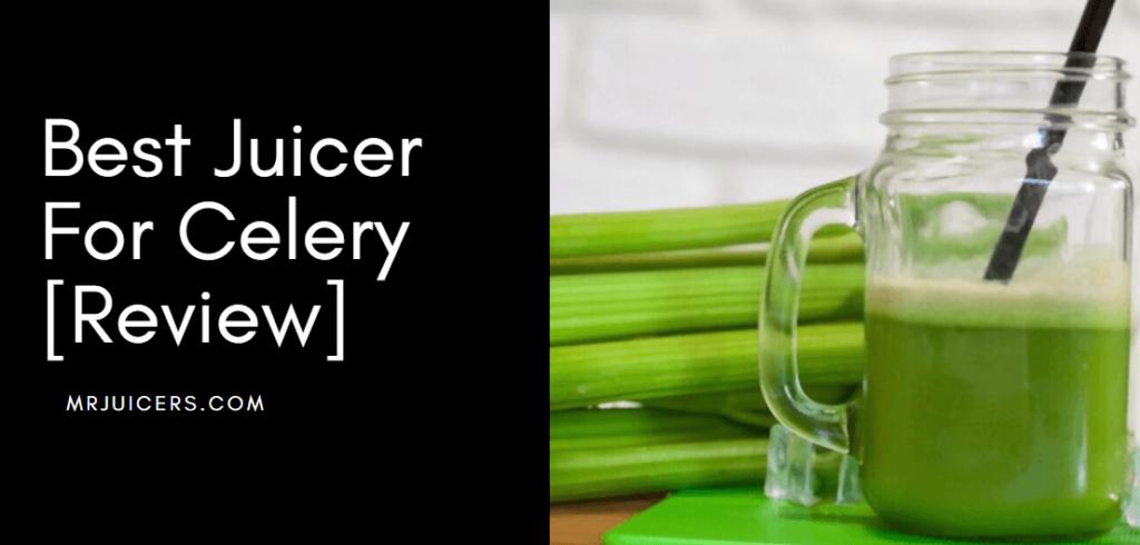 best juicer for celery