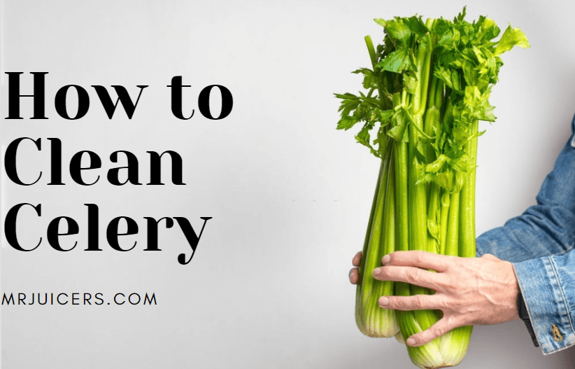 how to clean celery