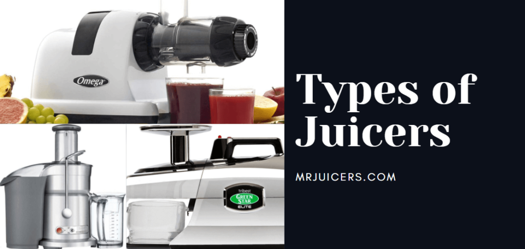 different types of juicers