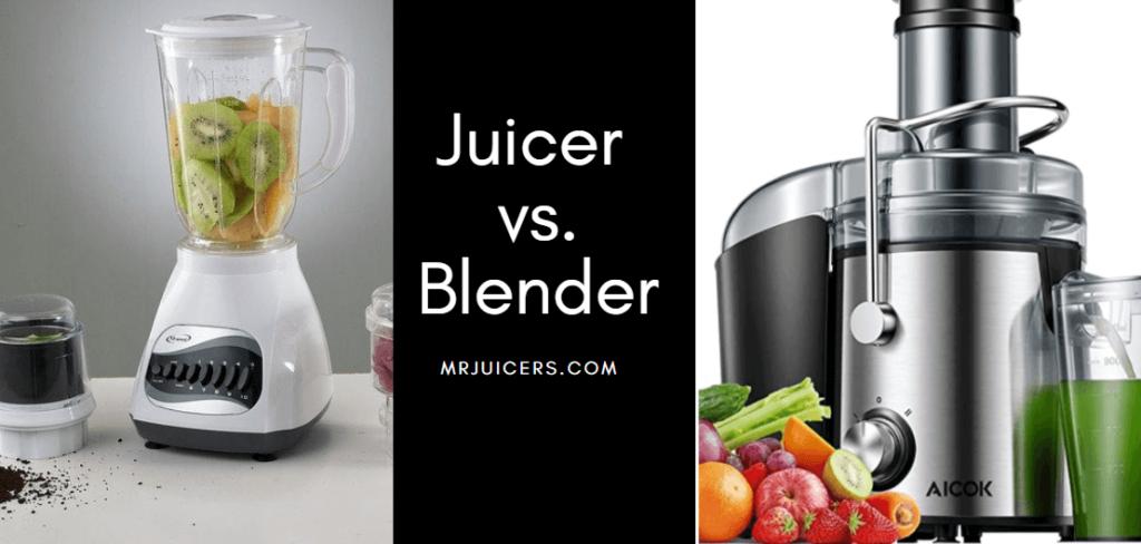 juicer versus blender