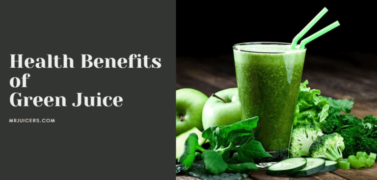 benefits of drinking green juice daily
